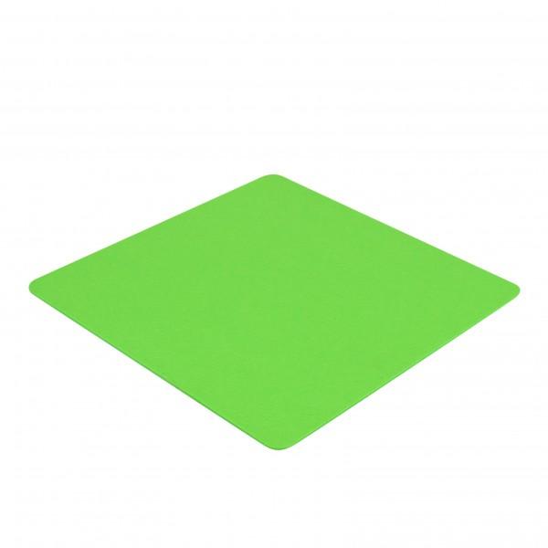Filz Auflage 40 x 40 cm für z.B. Cube Hocker Neon-Green - Einseitig 4mm