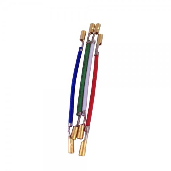 Phono-Kabel Set für Headshell Tonabnehmer Systeme / Tonkopf-Kabel