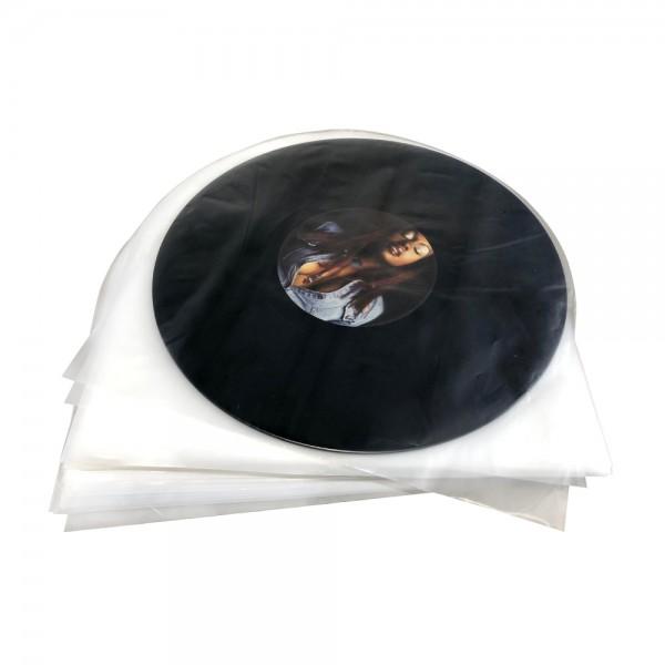 LP-Innenhüllen Super soft, hohe Qualität, Antistatik-Folie, abgerundete Ecken (100st.)/ Vinyfan Tip!