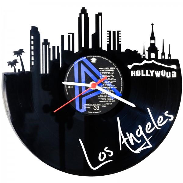 Schallplattenuhr Los Angeles