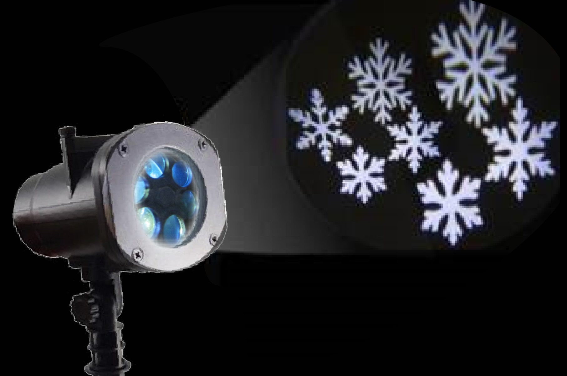 Outdoor-Projector-Snowflakes