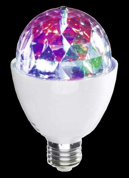 E-27 Disco-Party Licht / rotierender Discoball Effekt
