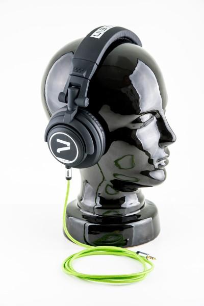 7even Kopfhörer schwarz-grün/ The Headphone black/ green