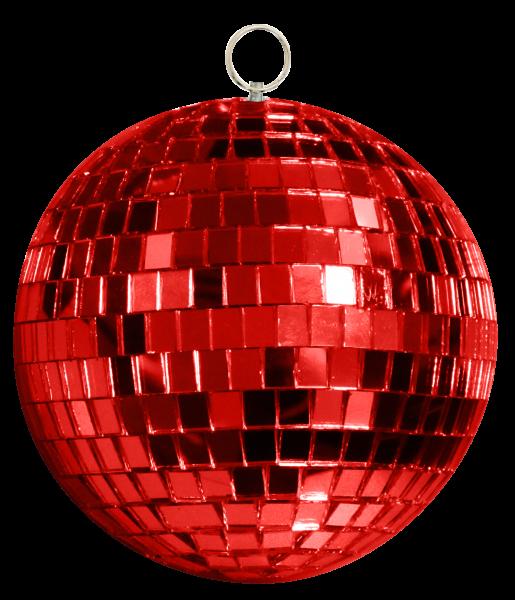 Mirror-Ball-10cm-red